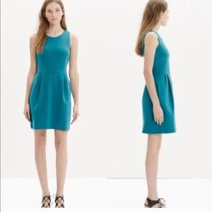 Madewell fit and flare classic dress